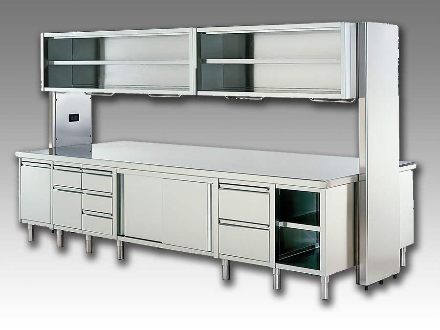 Forniture per ristorazione arredamenti per interni inox for Arredamento pasticceria prezzi
