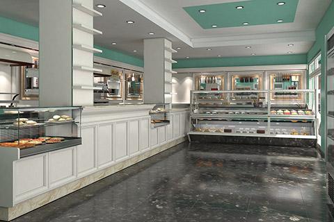 Arredamento bar ab arredamenti negozi tivoli for Idee arredamento bar