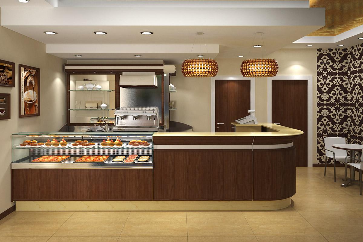 Arredamento bar ab arredamenti negozi tivoli for Arredo bar tonolli