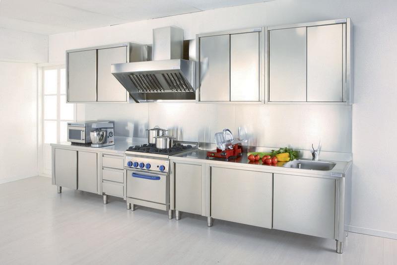 Attrezzature per cucine professionali ab arredamenti negozi for Cucine gran casa