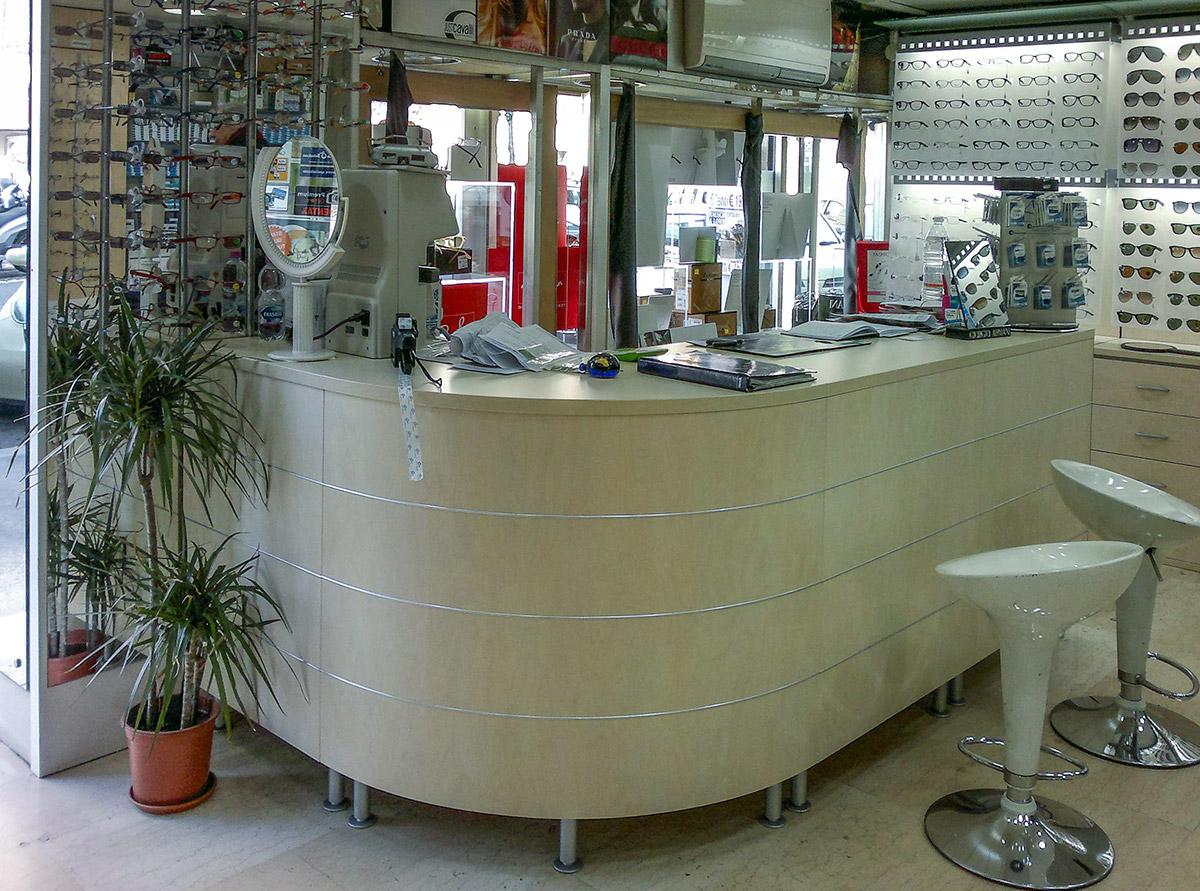 Arredamenti per negozi di ottica ab arredamenti negozi for Ab arredamenti