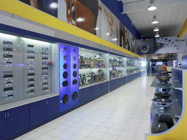 Arredo negozi di telefonia ed elettronica tivoli for Centro arredo negozi